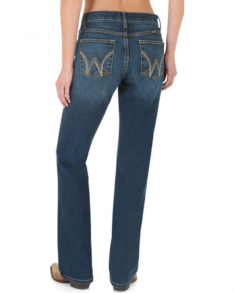 Wrangler Women's Ultimate Riding Jean Q-Baby Cool Vantage Bootcut Jeans