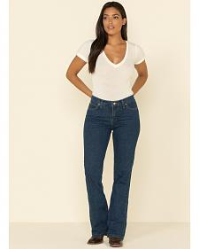 Wrangler Women's As Real As Wrangler Classic Fit Bootcut Jeans
