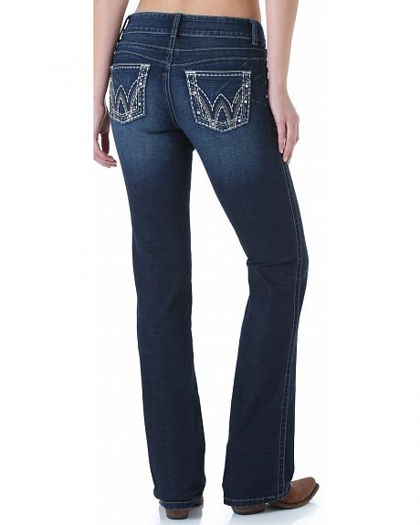 Wrangler Women's Mae Booty Up Bootcut Jeans