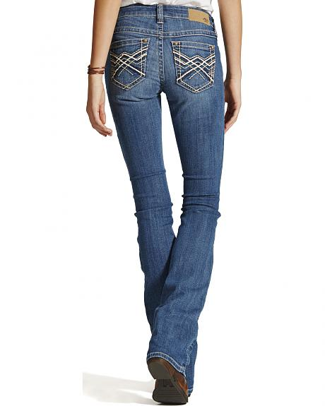 Ariat Women's Turquoise Impression Bootcut Jeans