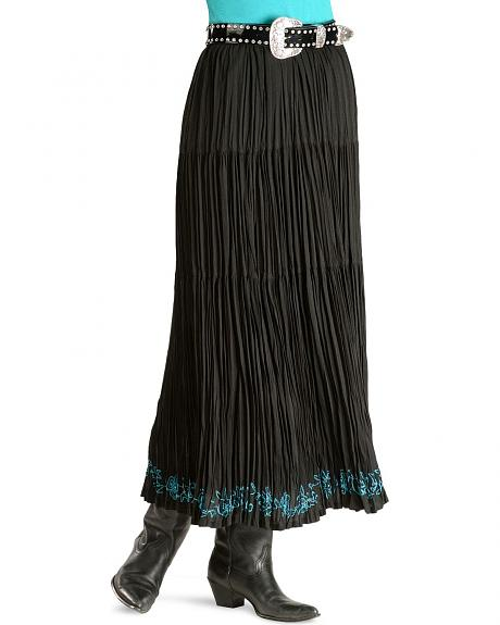 Cattlelac Ranch Sadona Long Broomstick Skirt