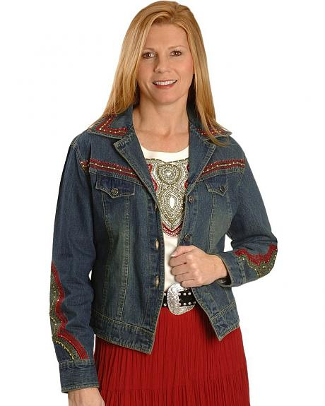 Cattlelac Ranch Tucson Embellished Denim Jacket