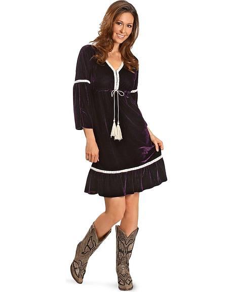 Rancho Estancia Purple Catalina Dress