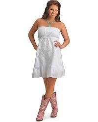 Rancho Estancia Lena Tube Top Dress at Sheplers