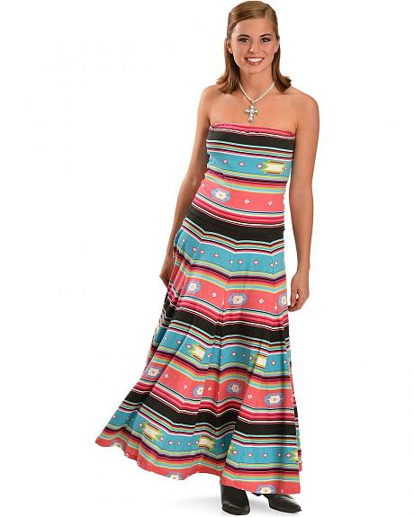 Rancho Estancia Southwest Maxi Dress