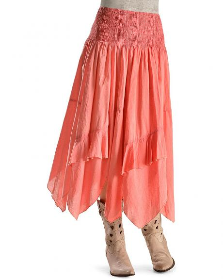 Rancho Estancia Coral Dress Skirt