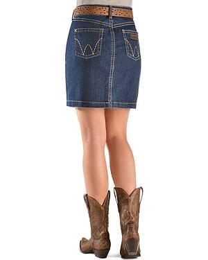 Wrangler Mae Denim Skirt