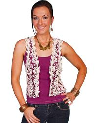 Scully Crocheted Vest at Sheplers