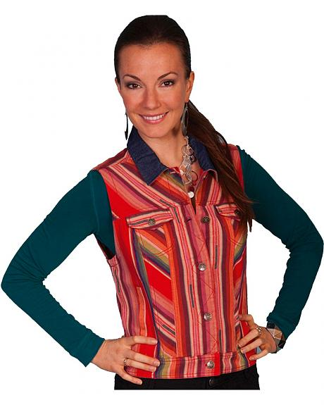 Scully Southwest Stripe Vest