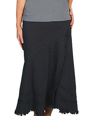 Scully Embroidered Western Skirt