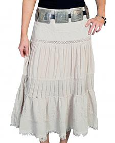 Scully Crocheted Panel Skirt