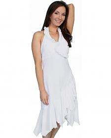 Scully Peruvian Cotton Halter Dress