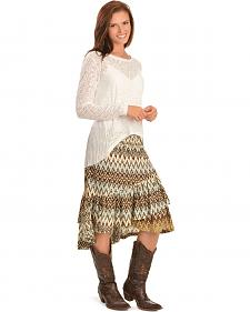 Ariat Tahos Multi Print Skirt