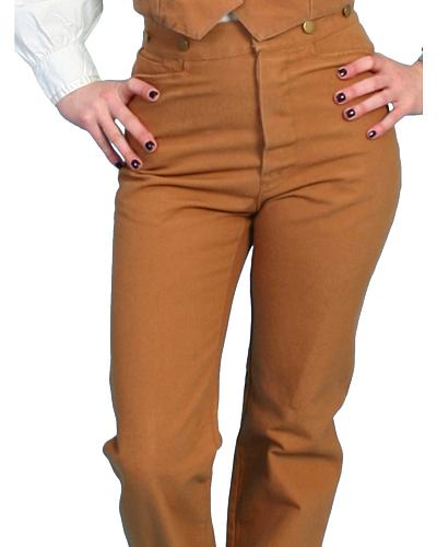 Rangewear by Scully Canvas Saddle Seat Pants $56.99 AT vintagedancer.com