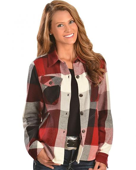 womens woolrich shirt jacket | iSpeakClearly Accent Modification