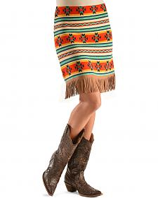 Cowgirl Justice Bella Fringe Skirt