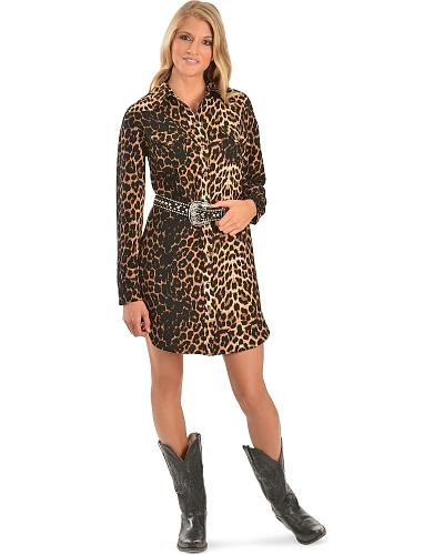 Cowgirl Justice Renegade Cheetah Print Dress Western & Country 1255