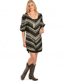 Wrangler Rock 47 Women's Shift Dress with Elastic Sleeves