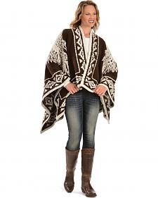 Ryan Michael Women's Headdress Wrap Shawl