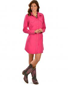 Cowgirl Justice Renegade Fuchsia Western Dress