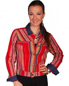 Scully Women's Serape Denim Jacket