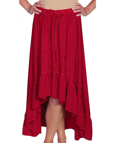 Scully Women's High-Low Maxi Skirt