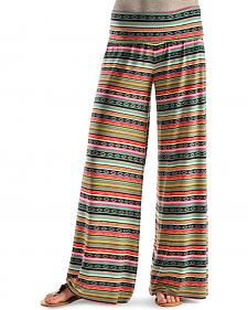 Cowgirl Justice Women's India Pink Palazzo Pants