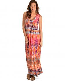 Wrangler Women's Printed Maxi Dress