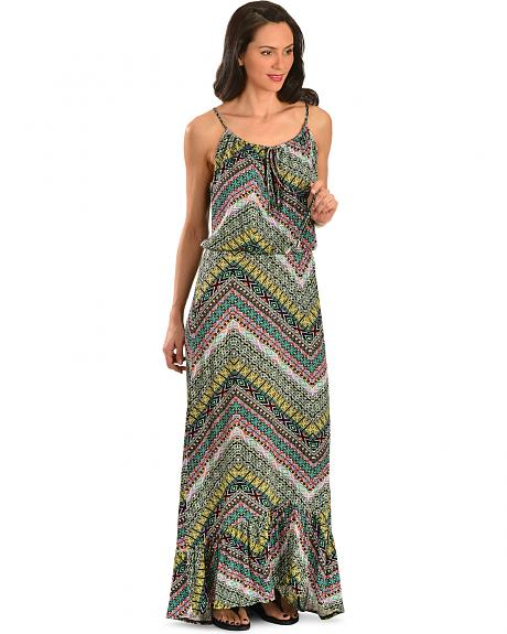 Wrangler Rock 47 Women's Printed Maxi Dress