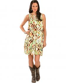 Wrangler Rock 47 Women's Printed Trapeze Dress