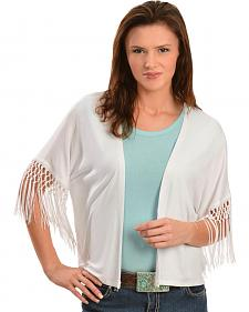 Red Ranch Women's Spanish Fringe Cardigan