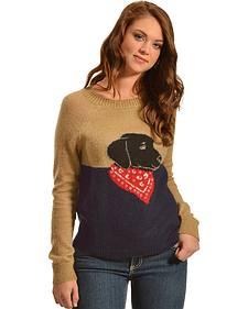 Woolrich Women's Motif Mohair Sweater