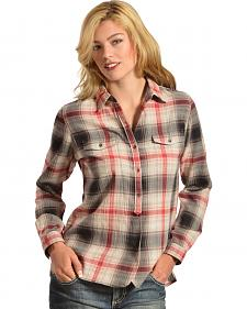 Woolrich Women's Checkerberry Flannel Shirt