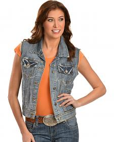 KUT from the Kloth Amelia Denim Vest