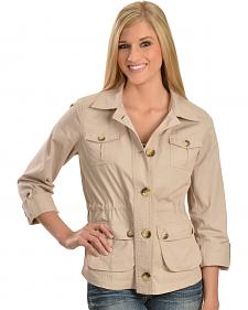 Tantrums Women's Stone Cotton Jacket