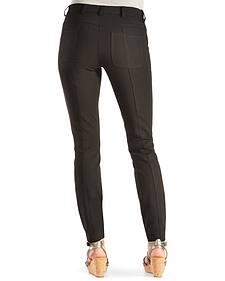 Black Swan Women's Black Ponte Skinny Pants