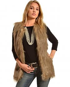 Black Swan Women's Frost Faux Fur Vest