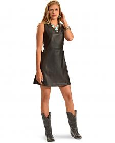 Cowgirl Justice Madison Faux Leather Dress