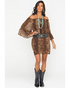 Cowgirl Justice Women's Cheetah Print Dress