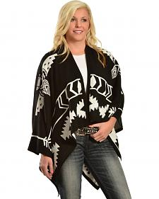 Cowgirl Justice Women's Thunderbird Poncho