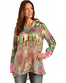 Johnny Was Women's Scoopneck Tunic