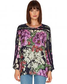 Johnny Was Women's Flower Dolman Blouse