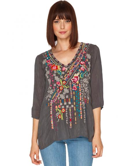 Johnny Was Women's Sonrisa Blouse