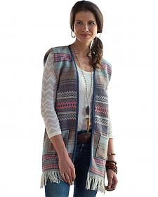 Ryan Michael Women's Saddle Blanket Vest