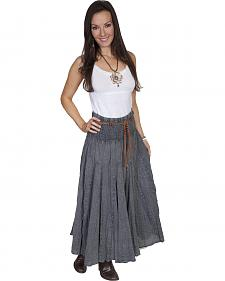 Scully Cantina Collection Full Length Skirt