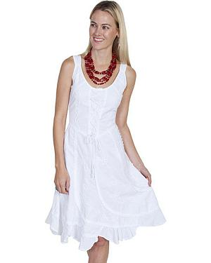 Scully Sleeveless Peruvian Cotton Dress