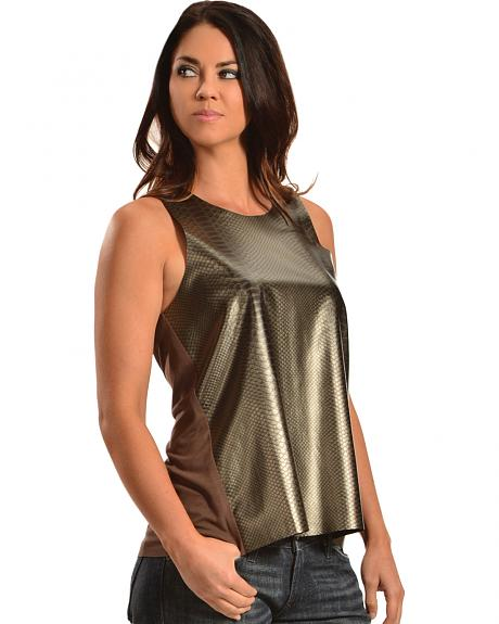 Cowgirl Justice Women's Bronze Tank