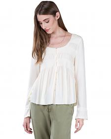 Black Swan Women's Lucie White Peasant Top