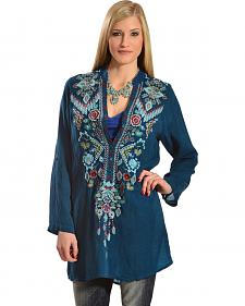 Johnny Was Women's Chayanna Blouse