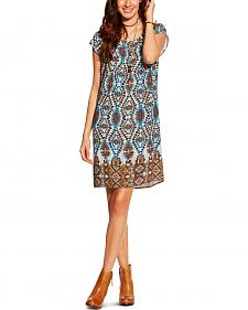 Ariat Women's Kallie Southwest Print Shift Dress